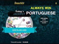Method To Always Win In Snuckls I Always Win, Portuguese