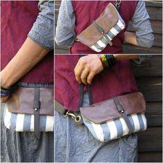 Hip Bag - Fanny Pack - Traveler Bag - Utility Hip Belt - Hip Pouch on Etsy, $63.00
