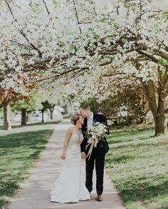 Spring Wedding Ideas, Memorial Park Omaha Nebraska Wedding
