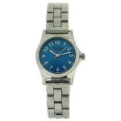 Reflex Ladies Analogue Blue Dial & Silver Tone Metal Bracelet Strap Watch LB101