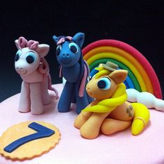 Handsculpted My Little Pony 3D cakes  Send novelty birthday cake to loved in Kuala Lumpur, Johor Bahru and Penang. #cakeshop #cakehouse #bakery