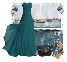 """Nautical adventures"" by diananicoleparsons ❤ liked on Polyvore featuring Leftbank Art, Pier 1 Imports, Dot & Bo, Gucci and Jessica Simpson"