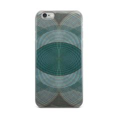 Vesica Spin Graphic iPhone Case