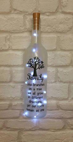 Bottle Crafts Bottle DIY DIY Bottle Wine Bottle Bottle Lights bottle crafts diy 38 Magical DIY Crafts With Wine Bottle That Will Amaze You - Page 4 of 38 - Veguci Empty Wine Bottles, Wine Bottle Gift, Glass Bottle Crafts, Painted Wine Bottles, Lighted Wine Bottles, Diy Bottle, Bottle Lights, Bottle Art, Wine Glass