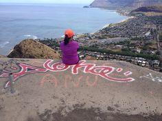 Beautiful scenery at Waianae side...@Pu'u O Hulu Kai Trail