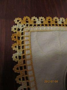 Filomena Crochet E Outros Lavores: - Bar - Diy Crafts Crochet Boarders, Crochet Blanket Edging, Crochet Edging Patterns, Crochet Lace Edging, Crochet Diagram, Lace Patterns, Crochet Designs, Crochet Stitches, Crochet Elephant