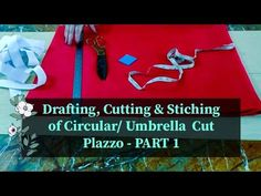 Drafting, Cutting & Stitching of ☂️ Circular/Umbrella Cut Plazzo - Part 1 How To Make Diy Projects, Arya, Art Therapy, Solo Travel, Diversity, Dressmaking, Writers, Stitching, Dance