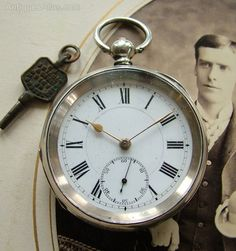 Antiques Atlas - Kendal & Dent Dustproof Lever Silver Pocket Watch