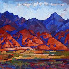 Nevada Shadows Painting