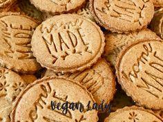 Celozrnné špaldové sušienky so škoricou - Vegan Lady Healthy Cooking, Healthy Recipes, Healthy Food, Crackers, Muffins, Oatmeal, Food And Drink, Sweets, Vegan