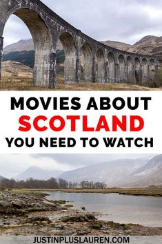 These are the top 25 movies about Scotland that you need to watch! These films will inspire you to travel to Scotland as well as tell stories about Scotland's history and culture. Movies about Scotland Travel Guides, Travel Tips, Travel Destinations, Travel Europe, Travel Advice, Scotland Travel, Ireland Travel, Scotland Trip, Sunshine On Leith