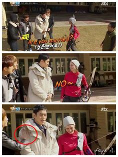Hahaha! Hyesung can't afford Eric be interested in Maya.