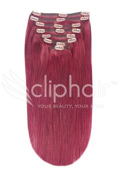 Get that look cherry red extensions 530 human hair extensions gorgeous and vibrant cherry red extensions 530 aaa quality human hair extensions perfect pmusecretfo Image collections
