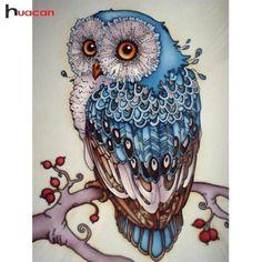 "Full 5D Diy Diamond Painting Cross Stitch /""Butterfly Bird/"" 3D Diamond Embro L6H9"