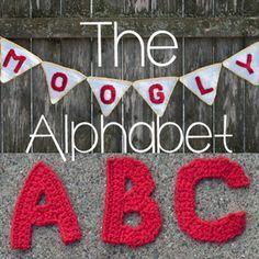 FREE PATTERNS FOR: crochet; Alphabet ~~ …