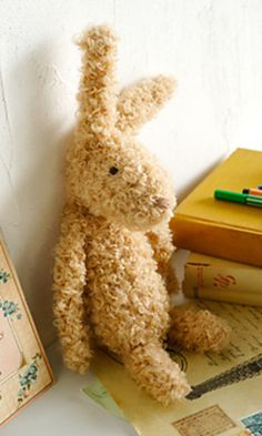 Rabbit - free crochet pattern by Pierrot (Gosyo Co., Ltd) - Pattern is Japanese but fully charted using standard crochet symbols.