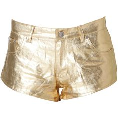 Stussy Gold Steel Short ($93) ❤ liked on Polyvore