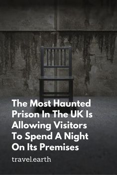 The most haunted prison in the UK is now open to visitors. Tourists can stay overnight in one of the prison cells. The HM Shepton Mallet prison in Somerset was built in Haunted Prison, Ghost Sightings, Abandoned Asylums, Most Haunted Places, Prison Cell, Life After Death, Stay Overnight, Haunted Houses, Halloween Movies