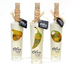 Olivio. Olive Oil Packaging by Eileen Carron design