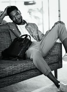 Kid Cudi - attractive and a great artist. I love him.