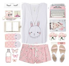 """""""Bunnies :3"""" by raquel-t-k-m ❤ liked on Polyvore featuring Forever 21, Luv Aj, Polaroid, Carlo Pazolini, LSA International, Louis Vuitton and Lord & Berry"""
