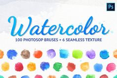 Watercolor Paper Texture, Watercolor Effects, Watercolor Brushes, Watercolor Drawing, Watercolor Cards, Painting & Drawing, Watercolors, Preppy, Highlighter Brush