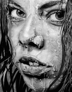 Supreme Portrait Drawing with Charcoal Ideas. Prodigious Portrait Drawing with Charcoal Ideas. Realistic Pencil Drawings, Realistic Paintings, Cool Paintings, Abstract Paintings, Portrait Au Crayon, Pencil Portrait, Portrait Images, Portraits, Drawing Faces