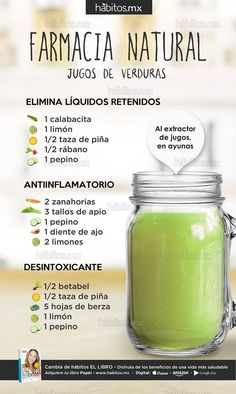 Hábitos Health Coaching | Este blog está dirigido para todas las personas que buscan hacer cambios en sus HÁBITOS para mejorar su salud Healthy Tips, Healthy Snacks, Healthy Drinks, Healthy Recipes, Healthy Smoothies, Healthy Juices, Juice Smoothie, Smoothie Drinks, Detox Drinks