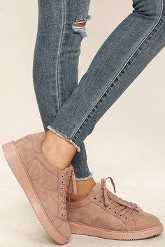 best sneakers 3e728 a8a20 No one does city chic style quite like you in the My City Mauve Suede  Sneakers