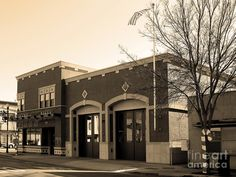 (CALIFORNIA) Historic Niles District Near Fremont . Niles Fire Station Number 2