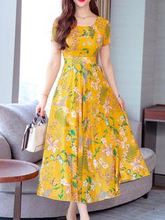 Casual Evening Dresses, Modest Dresses, Casual Dresses, Fashion Dresses, Dresses For Work, Dress Work, Women's Casual, Women's Fashion, Girl Sleeves