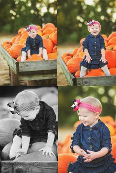 Pumpkin Patch Princess | #Indiana #Family #Photographer
