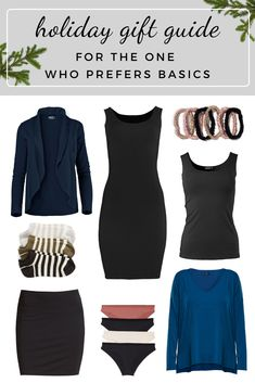Sustainable fashion holiday gift guide, for the one who prefers basics. If you're looking for ethical and locally-made gifts for all the amazing ladies in your life, look no further. Our unbelievably comfortable, quality clothing is designed for women, by women, with eco-luxe fabrics that last. #giftguide #holidaygiftguide #sustainablefashion #ethicalclothing #bambooclothing Sustainable Clothing, Sustainable Fashion, Ethical Clothing, Basic Tops, Holiday Fashion, Holiday Gift Guide, Slow Fashion, Polyvore Outfits, Capsule Wardrobe