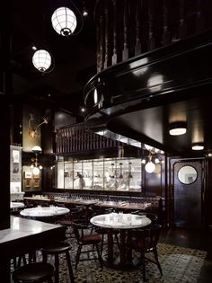 Weslodge Saloon, Toronto. Interior design by Munge Leung.