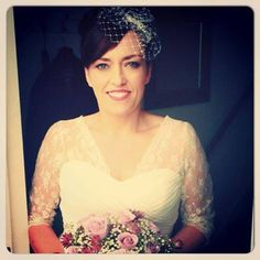 Retro pic from Claire's wedding day