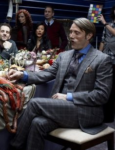 "awritersrejections: "" sympathyforthecannibal: "" Hannibal season 1 promotional shoot "" Hannibal, Hannibal, Hannibal, Mads """