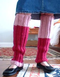 Leg warmers for nieces: to-do