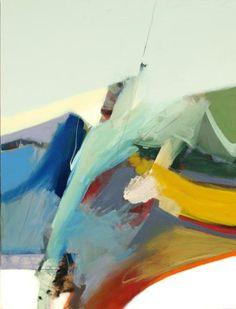 Bob Hunt           Flux #1                  Acrylic on Canvas, 48 x 36Art on the 5th Gallery