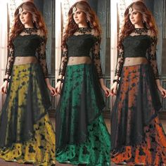 Maskeen Printed Embroidered Lehenga Suit  Product Info : Top :- Net with Emb.work  Stone  Inner Attached Sleeves :- Net with Emb.work  Stone Bottom / Lengha :- Bhagalpuri print Dupatta :- Nazmin Chiffon Type :- Semi Stitched ( Material )  Price : 1700 INR Only ! #Booknow  World Wide Shipping Available !  PayPal / WU Accepted  C O D Available In India ! Shipping Charges Extra  Stitching Service Available  To order / enquiry  Contact Us : 91 9054562754 ( WhatsApp Only )  #fashion #lookbook…