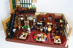 Lego Bar - Girl's Night at the Brick by Sebastian-Z