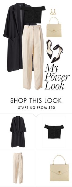 """What's Your Power Look?"" by amuantes ❤ liked on Polyvore featuring Jakke, Yves Saint Laurent, Chanel, 3.1 Phillip Lim and Marni"