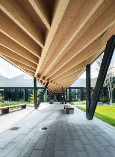 Barkow Leibinger Architekten -  HAWE Factory - photo by David Franck · Divisare