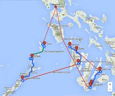 Travel Route Philippines