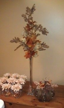 Photo: Uploaded from the Photobucket Android App. This Photo was uploaded by Fall Wedding Centerpieces, Wedding Decorations, Wedding Ideas, Special Events, Special Occasion, Asthma, Center Pieces, Fundraising, Tablescapes