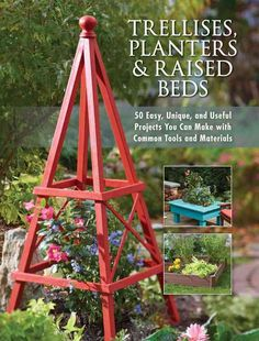 <DIV><p>A step-by-step guide that gives any gardener all the information needed to make garden furnishings that are both simple and beautiful. This book includes 50 complete plans for trellises, raised beds, planters, window boxes, and just about any i...