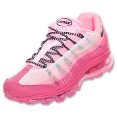 Women\u0026#39;s Nike Air Max 95 DYN FW Running Shoes | FinishLine.com | Polarized Pink
