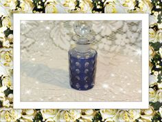 Blue Cut to Clear Perfume Bottle Vintage. Starting at $20