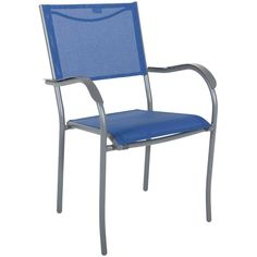 stacking sling sling arm chair blu arm chairs folding chair forward