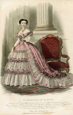 1855 - Le Moniteur de la Mode
