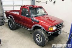 '93-'97 Ford Ranger It's no secret that we are fans of the Ford Ranger. In fact, it may be the most sensible and builder-friendly platform on our list. The Ranger has an enthusiast following that rivals the highly coveted Toyota mini-truck and if you have ever spent any time in the Southern California desert you would have thought they were handing out Rangers at the state line.
